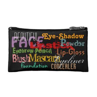 Beautiful Face Cosmetic Bag