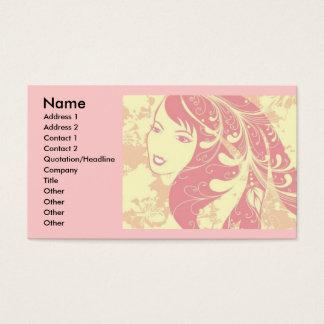 beautiful_face, Name, Address 1, Address 2, Con... Business Card