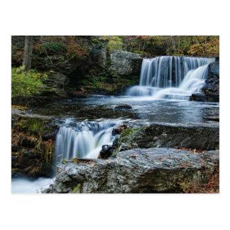 Beautiful Factory Falls Postcard