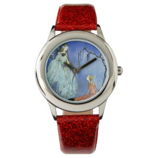 Beautiful Fairy by Virginia Sterrett Wrist Watch