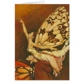 Beautiful Fairy Dancers Greetings card