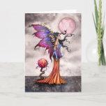 Beautiful Fairy Fantasy Art Greeting Card