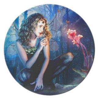 Beautiful Fairy Princess Plate