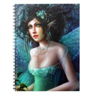 Beautiful Fairy Princess Spiral Notebook
