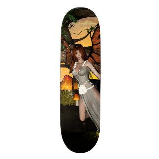 Beautiful fairy skate board