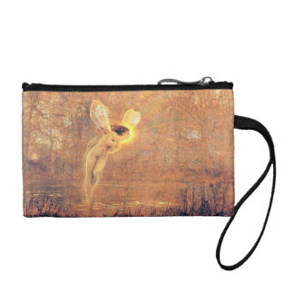 Beautiful Fairy Vintage Key Coin Clutch