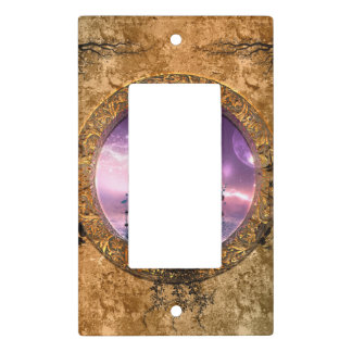 Beautiful fairy with arrow and bow light switch cover