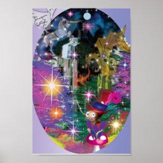 Beautiful fairytale poster