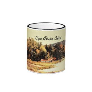 Beautiful Fall in Cape Breton Ringer Coffee Mug