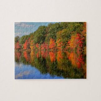 Beautiful Fall in New England Puzzle