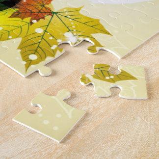 Beautiful Fall Leaves Jigsaw Puzzle