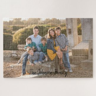Beautiful Family Photo Jigsaw Puzzle