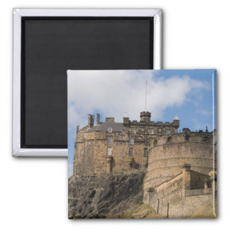 Beautiful famous giant Edinburgh Castle in Fridge Magnets
