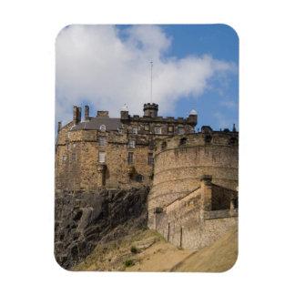 Beautiful famous giant Edinburgh Castle in Rectangle Magnet
