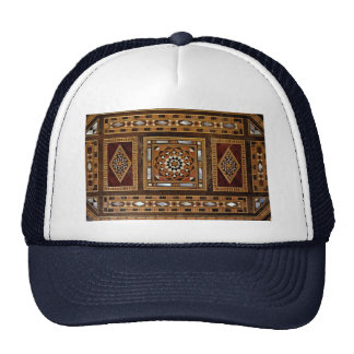 Beautiful Famous mother-of-pearl inlay work, Damas Mesh Hat