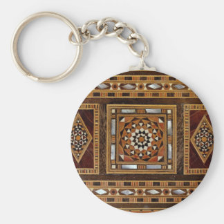 Beautiful Famous mother-of-pearl inlay work, Damas Keychain