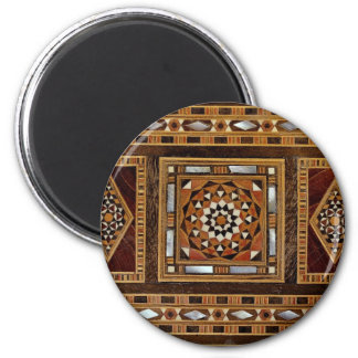 Beautiful Famous mother-of-pearl inlay work, Damas Refrigerator Magnets