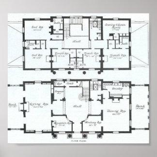 Beautiful Fancy Home Plan! Poster