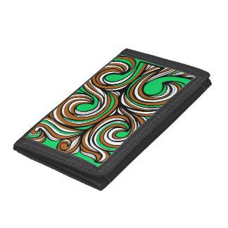 Beautiful Fantastic Astonishing Pattern Trifold Wallet