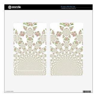 Beautiful Fantastic Feminine Design elegant smart Kindle Fire Skin
