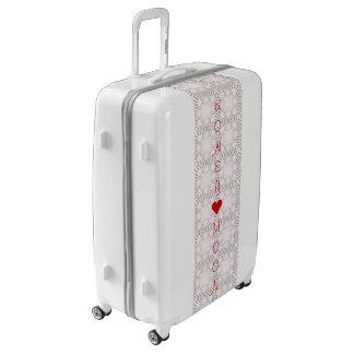 Beautiful Fantastic Feminine Honeymoon Design Luggage