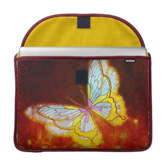Beautiful Fantasy Butterfly Fireworks Collage MacBook Pro Sleeve