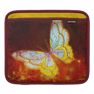 Beautiful Fantasy Butterfly Fireworks Collage Sleeve For iPads