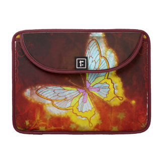 Beautiful Fantasy Butterfly Fireworks Collage Sleeve For MacBook Pro