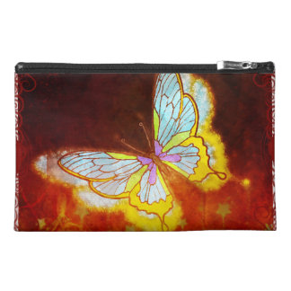 Beautiful Fantasy Butterfly Fireworks Collage Travel Accessory Bags