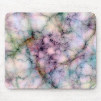 Beautiful Fantasy Colored Marble Abstract Designs Mouse Pad
