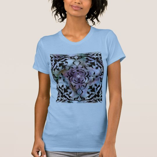 Beautiful Fantasy Colored Marble Abstract Designs T-Shirt