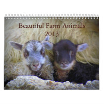Beautiful Farm Animals Calendar