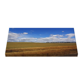 Beautiful Farm Land Canvas Print