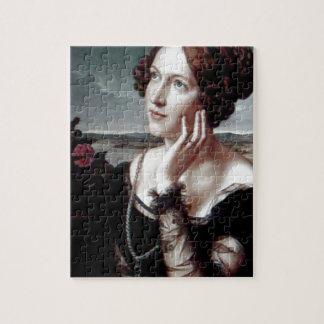 Beautiful Fashion woman Antique painting Jigsaw Puzzles