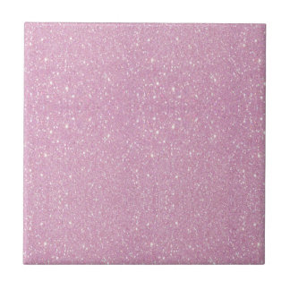 Beautiful fashionable soft purple glitter shinning ceramic tile