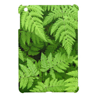 Beautiful fern leaves iPad mini case