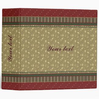 Beautiful festive design binder
