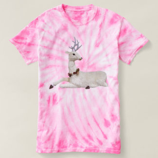 Beautiful Festive White Stag T-shirt