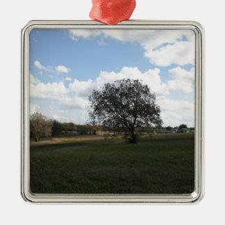 Beautiful Field Christmas Tree Ornament