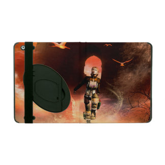 Beautiful fighter iPad folio case