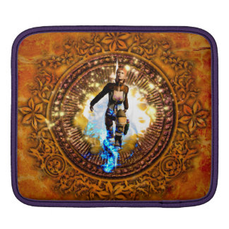 Beautiful fighter sleeve for iPads