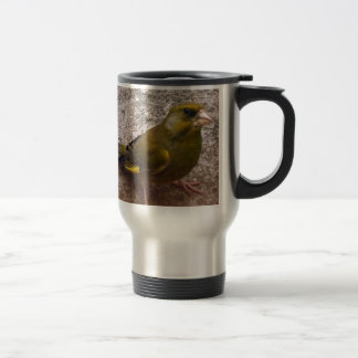 Beautiful Finch Travel Mug