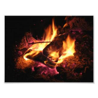 Beautiful Fire Photographic Print