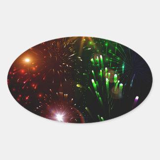 Beautiful firework stickers