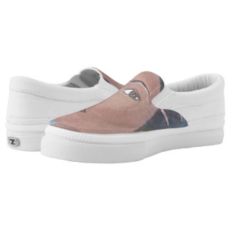 Beautiful & Fit Zipz Slip On Shoes, US Women Printed Shoes