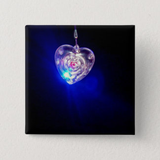 Beautiful flashing heart button