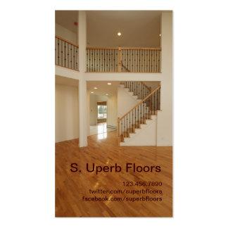 beautiful floor business card