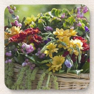 Beautiful Floral Arrangement Drink Coasters