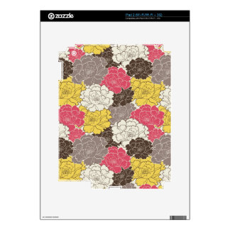 Beautiful Floral Blooms Skins For The iPad 2