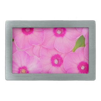 beautiful floral decoration rectangular belt buckle